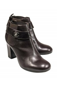 Chanel Chocolate brown Boots