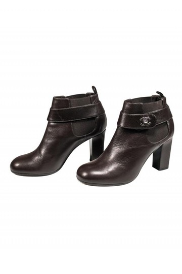 Chanel Chocolate brown Boots Image 2