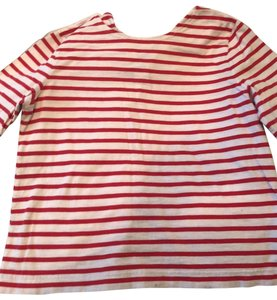 J.Crew T Shirt Red and White