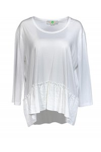 Stella McCartney Shirts Peplum Detail Top white