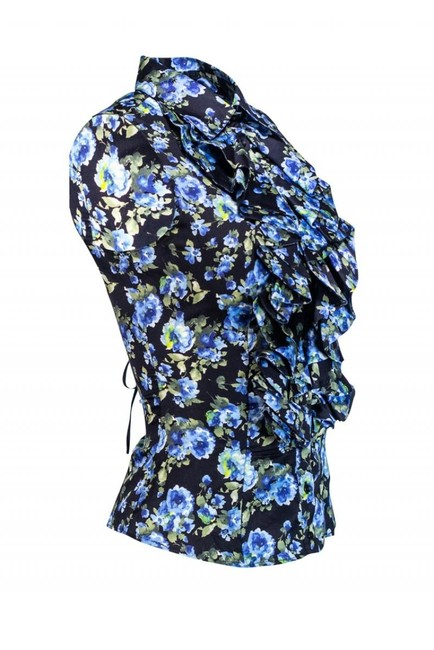 Anne Fontaine Shirts Ruffle Top black Image 1