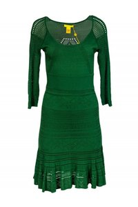 Catherine Malandrino short dress Green Day Pine on Tradesy