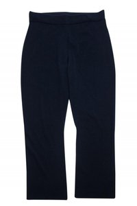 Eileen Fisher Casual Knitted Navy Straight Pants
