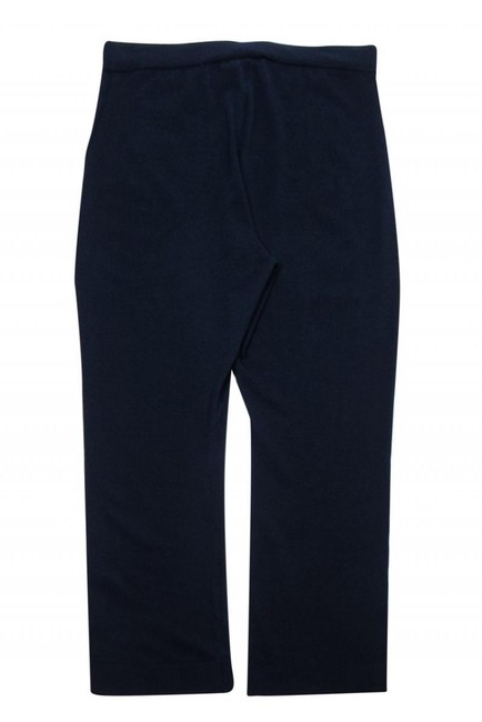 Eileen Fisher Casual Knitted Navy Straight Pants Image 1