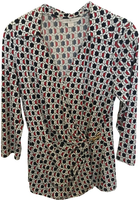 Preload https://img-static.tradesy.com/item/25618181/boston-proper-black-red-white-faux-with-gold-closure-accent-blouse-size-10-m-0-1-650-650.jpg