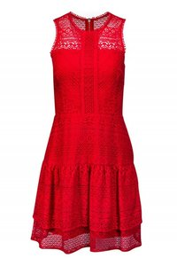 Parker short dress red Day Lace on Tradesy