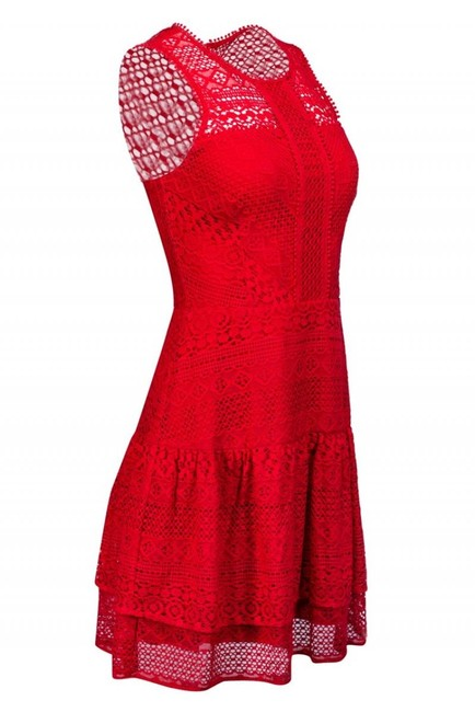 Parker short dress red Day Lace on Tradesy Image 1