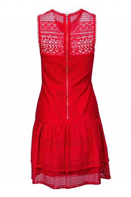 Parker short dress red Day Lace on Tradesy Image 2