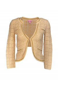 Lilly Pulitzer Beige Chain Link Sweater