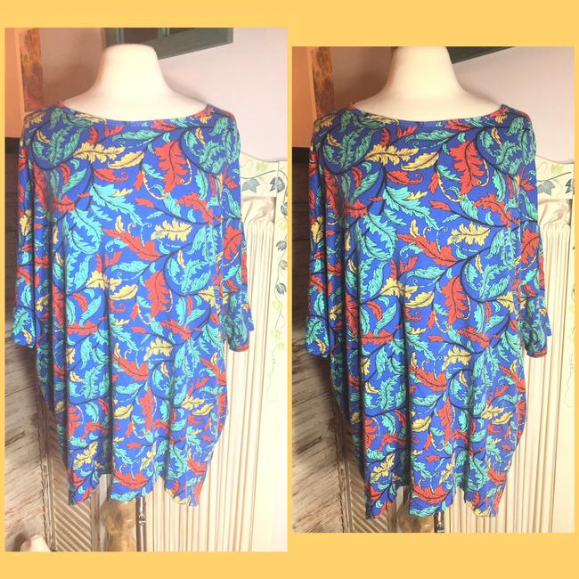 LuLaRoe T Shirt Pink/Orange/Blue/Red/Yellow/Green Image 1