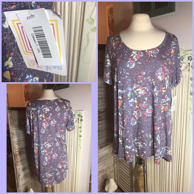 LuLaRoe T Shirt Pink/Orange/Blue/Red/Yellow/Green Image 5