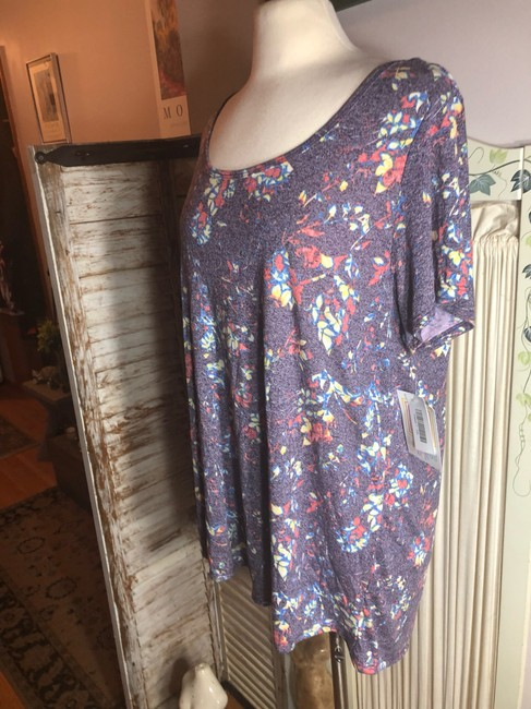 LuLaRoe T Shirt Pink/Orange/Blue/Red/Yellow/Green Image 8
