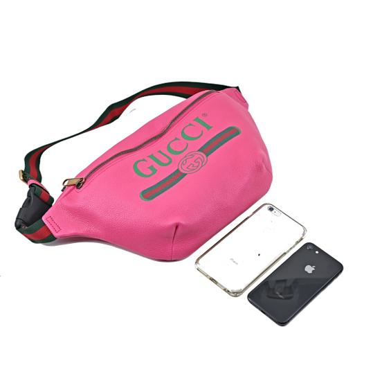 Gucci Leather Cross Body Bag Image 5