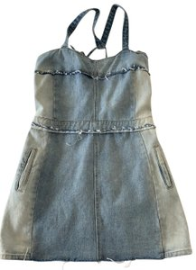 BlankNYC short dress blue on Tradesy