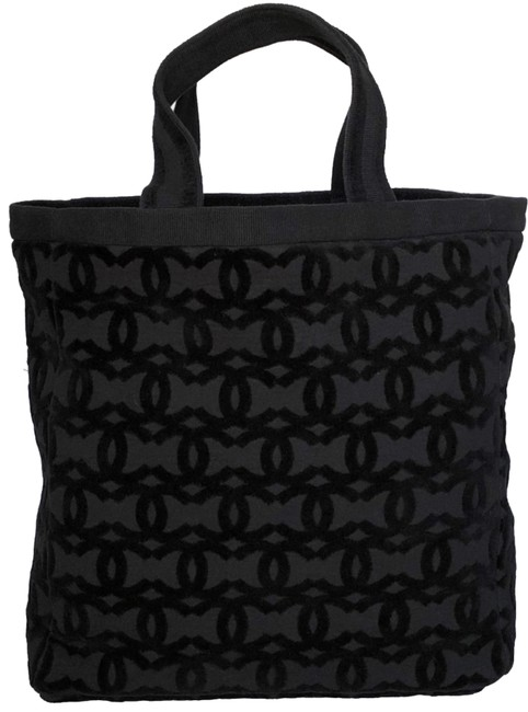 Item - Rare Collectible Summer Pool Party Towel Cc Tote Black Cotton Beach Bag