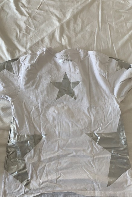 Good American T Shirt white/silver Image 1