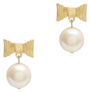 Kate Spade all wrapped up pearls drop earrings