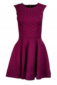 Ted Baker short dress Purple Day Fit on Tradesy