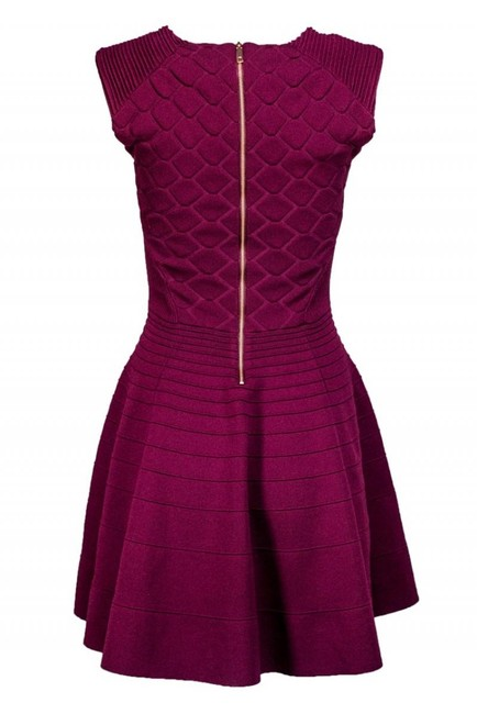 Ted Baker short dress Purple Day Fit on Tradesy Image 2