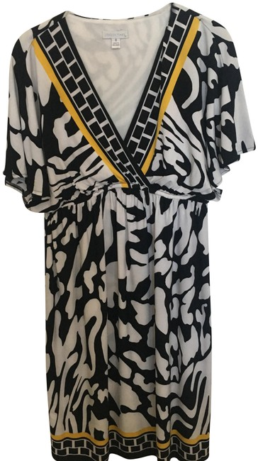 Preload https://img-static.tradesy.com/item/25618373/london-times-white-black-yellow-easy-great-pattern-mid-length-workoffice-dress-size-8-m-0-1-650-650.jpg