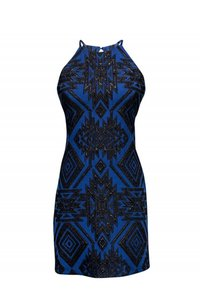 Parker short dress Blue Day Black on Tradesy