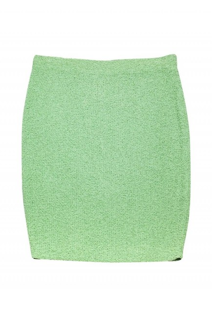 St. John Couture Mint Skirt Green Image 1