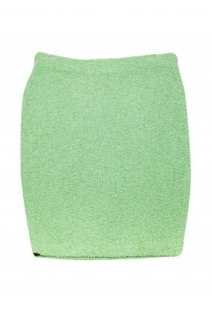 St. John Couture Mint Skirt Green Image 2
