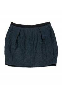 Elizabeth and James Dark Teal Mini Mini Skirt
