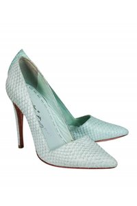 Alice + Olivia Basic Seafoam Green Pumps