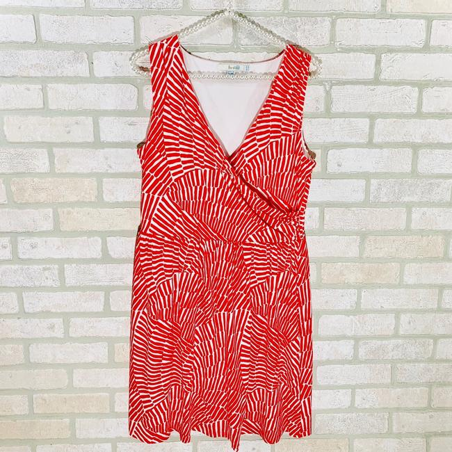 Boden short dress Red/white on Tradesy Image 3