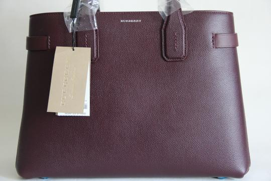 Burberry Banner Vintage Check Mahogany Red Satchel in Brown Image 1
