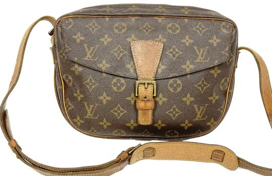 Preload https://img-static.tradesy.com/item/25618627/louis-vuitton-jeune-fille-leather-pm-shoulder-handbag-brown-monogram-cross-body-bag-0-1-540-540.jpg