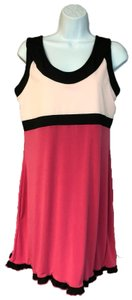 Down the Line NWT DOWN THE LINE PINK COLOR BLOCK TENNIS DRESS XL