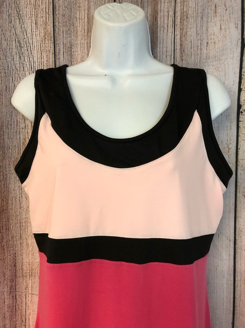 Down the Line NWT DOWN THE LINE PINK COLOR BLOCK TENNIS DRESS XL Image 3