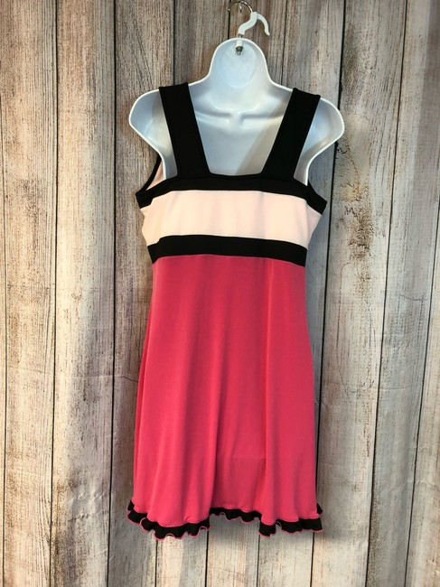 Down the Line NWT DOWN THE LINE PINK COLOR BLOCK TENNIS DRESS XL Image 5