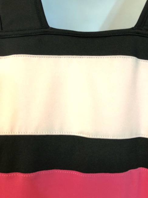 Down the Line NWT DOWN THE LINE PINK COLOR BLOCK TENNIS DRESS XL Image 6