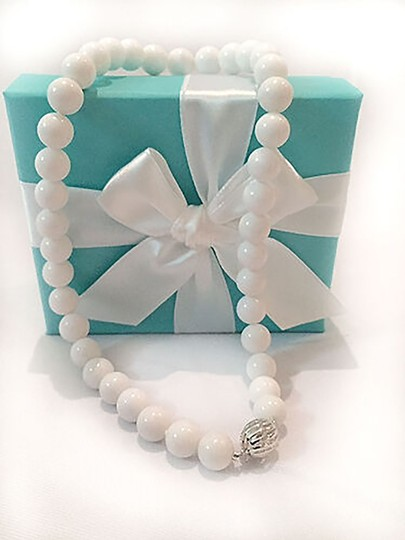 Tiffany & Co. Tiffany Graduated Beads Ball Necklace in Sterling Silver, 16in Image 1