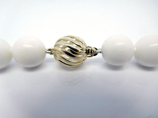 Tiffany & Co. Tiffany Graduated Beads Ball Necklace in Sterling Silver, 16in Image 6