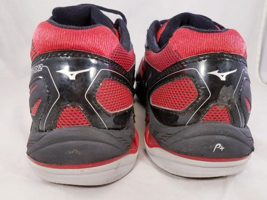 Mizuno Volleyball Woman Wave Lightning Rx2 Woman Size 11 black and RED Athletic Image 5