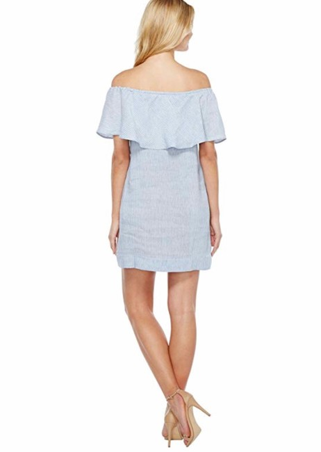 7 For All Mankind short dress blue on Tradesy Image 2