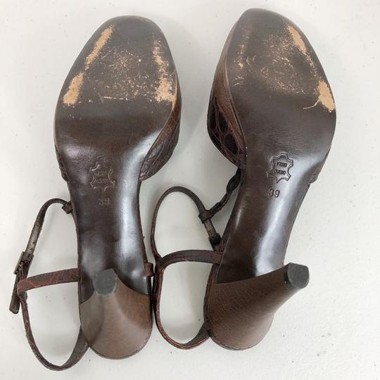 Theory Brown Pumps Image 11