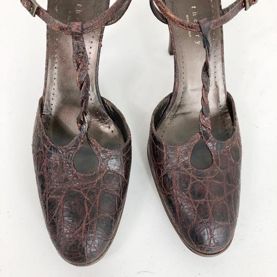 Theory Brown Pumps Image 7