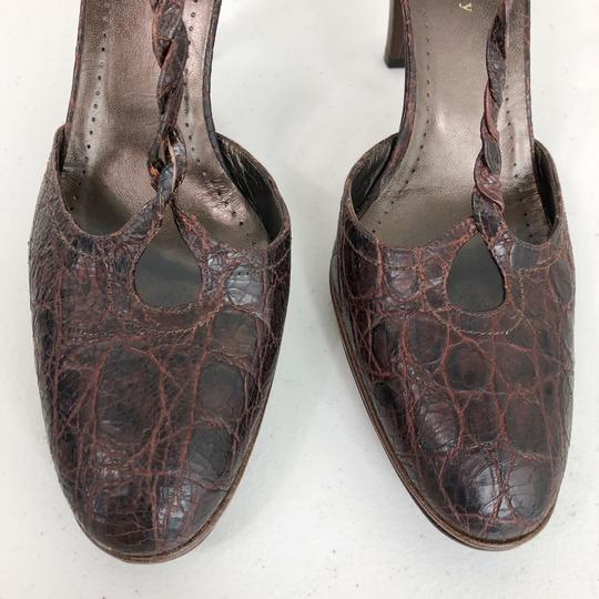 Theory Brown Pumps Image 8