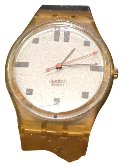 Preload https://img-static.tradesy.com/item/25618800/swatch-silver-clear-vintage-watch-0-1-540-540.jpg