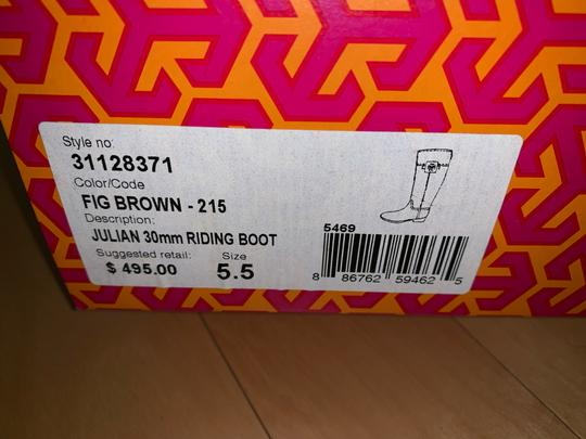 Tory Burch Brown Boots Image 7