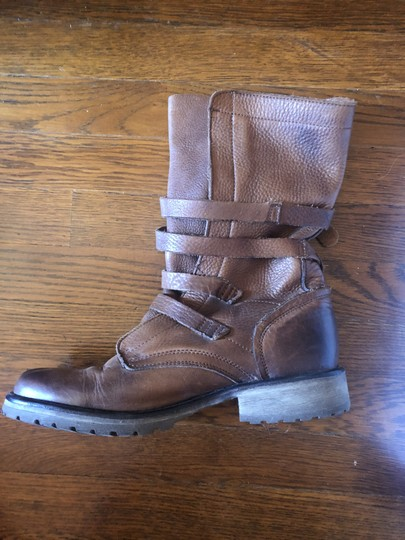 Steve Madden Faux Leather brown Boots Image 1