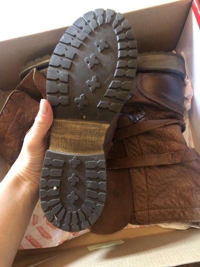 Steve Madden Faux Leather brown Boots Image 2