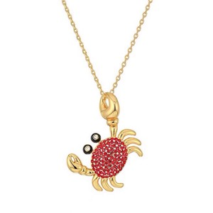 Kate Spade Kate Spade Shore Thing Crab Necklace