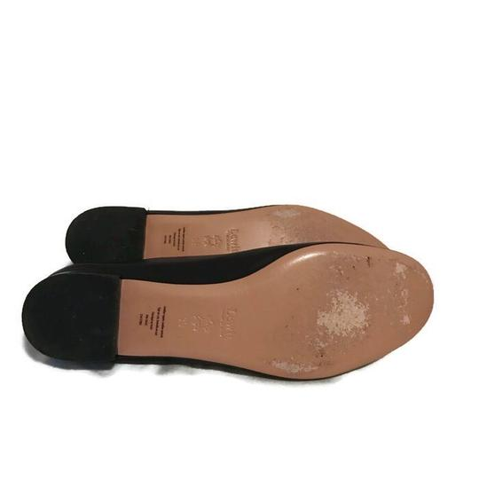 Lewit Leather Comfortable Classic Black Flats Image 10