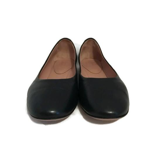 Lewit Leather Comfortable Classic Black Flats Image 6